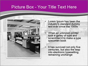 Digital printing system PowerPoint Template - Slide 13