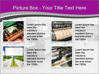 Digital printing system PowerPoint Template - Slide 14