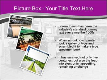 Digital printing system PowerPoint Template - Slide 17