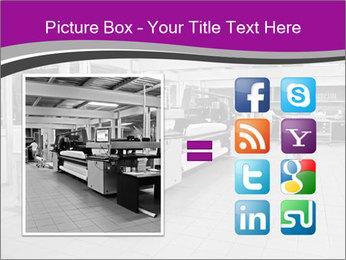 Digital printing system PowerPoint Template - Slide 21