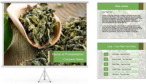 Green Tea PowerPoint Template