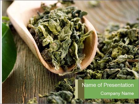 Green Tea PowerPoint Templates
