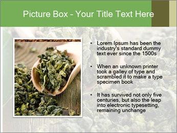 Green Tea PowerPoint Template - Slide 13
