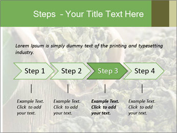Green Tea PowerPoint Template - Slide 4