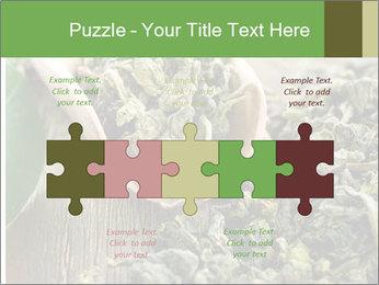 Green Tea PowerPoint Template - Slide 41