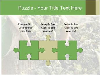Green Tea PowerPoint Template - Slide 42