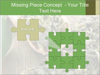 Green Tea PowerPoint Template - Slide 45