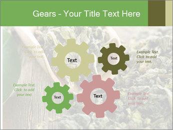 Green Tea PowerPoint Template - Slide 47