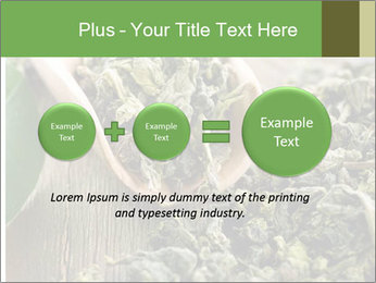 Green Tea PowerPoint Template - Slide 75