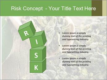 Green Tea PowerPoint Template - Slide 81