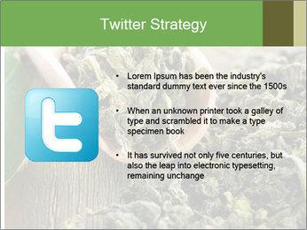 Green Tea PowerPoint Template - Slide 9