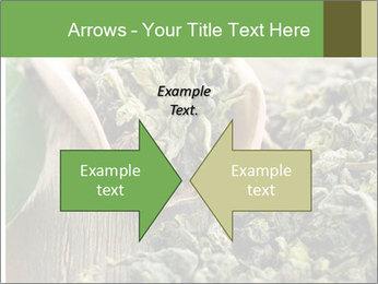 Green Tea PowerPoint Template - Slide 90