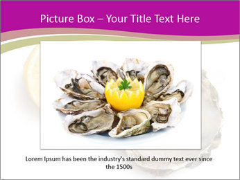 Oyster and lemon PowerPoint Template - Slide 15