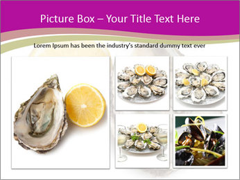 Oyster and lemon PowerPoint Template - Slide 19