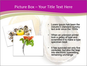 Oyster and lemon PowerPoint Template - Slide 20