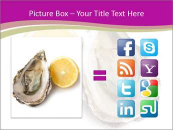 Oyster and lemon PowerPoint Template - Slide 21