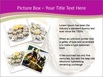 Oyster and lemon PowerPoint Template - Slide 23
