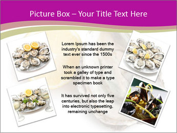 Oyster and lemon PowerPoint Template - Slide 24