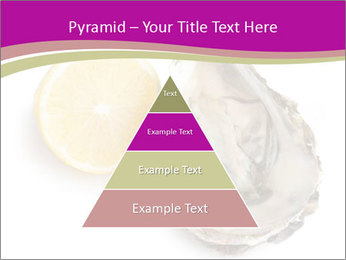 Oyster and lemon PowerPoint Template - Slide 30