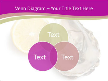 Oyster and lemon PowerPoint Template - Slide 33