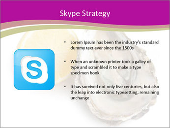 Oyster and lemon PowerPoint Template - Slide 8