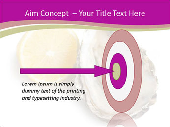 Oyster and lemon PowerPoint Template - Slide 83