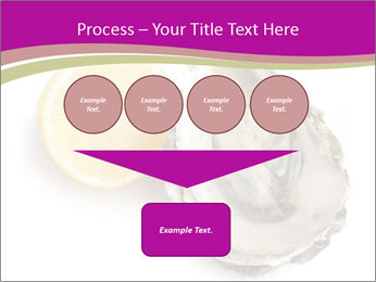 Oyster and lemon PowerPoint Template - Slide 93