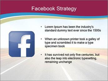 Asphalt blurry road PowerPoint Template - Slide 6