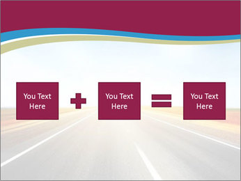 Asphalt blurry road PowerPoint Template - Slide 95