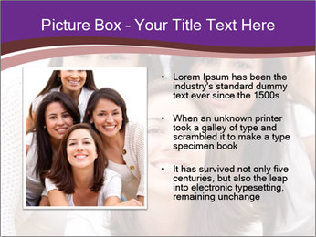 Group smiling PowerPoint Template - Slide 13