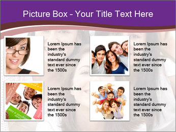 Group smiling PowerPoint Template - Slide 14