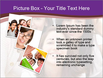 Group smiling PowerPoint Template - Slide 17