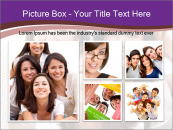 Group smiling PowerPoint Template - Slide 19