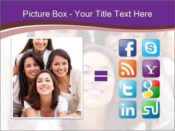Group smiling PowerPoint Template - Slide 21