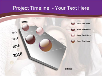 Group smiling PowerPoint Template - Slide 26