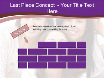 Group smiling PowerPoint Template - Slide 46