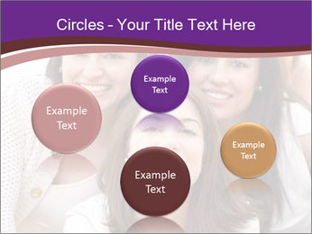 Group smiling PowerPoint Template - Slide 77