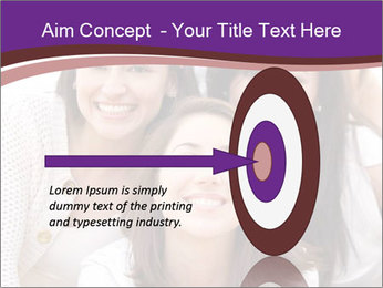 Group smiling PowerPoint Template - Slide 83
