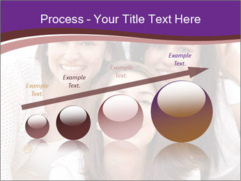 Group smiling PowerPoint Template - Slide 87