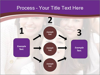 Group smiling PowerPoint Template - Slide 92