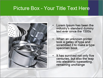 Stacked saucpans PowerPoint Template - Slide 13