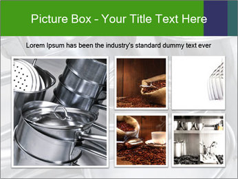 Stacked saucpans PowerPoint Template - Slide 19