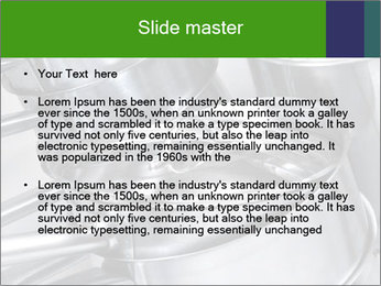 Stacked saucpans PowerPoint Template - Slide 2