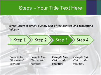 Stacked saucpans PowerPoint Template - Slide 4