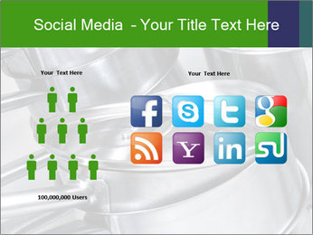 Stacked saucpans PowerPoint Template - Slide 5