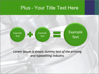 Stacked saucpans PowerPoint Template - Slide 75