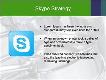 Stacked saucpans PowerPoint Template - Slide 8