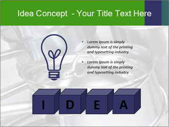 Stacked saucpans PowerPoint Template - Slide 80