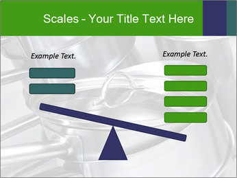 Stacked saucpans PowerPoint Template - Slide 89