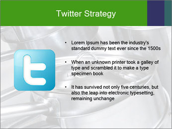 Stacked saucpans PowerPoint Template - Slide 9